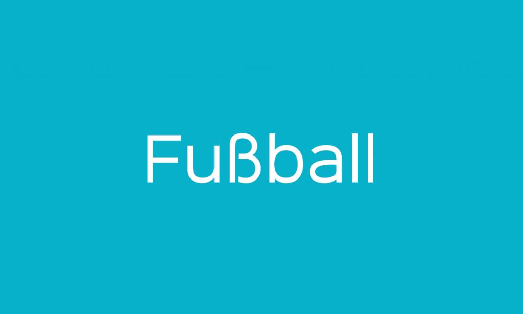 Fußball auf Deutsch