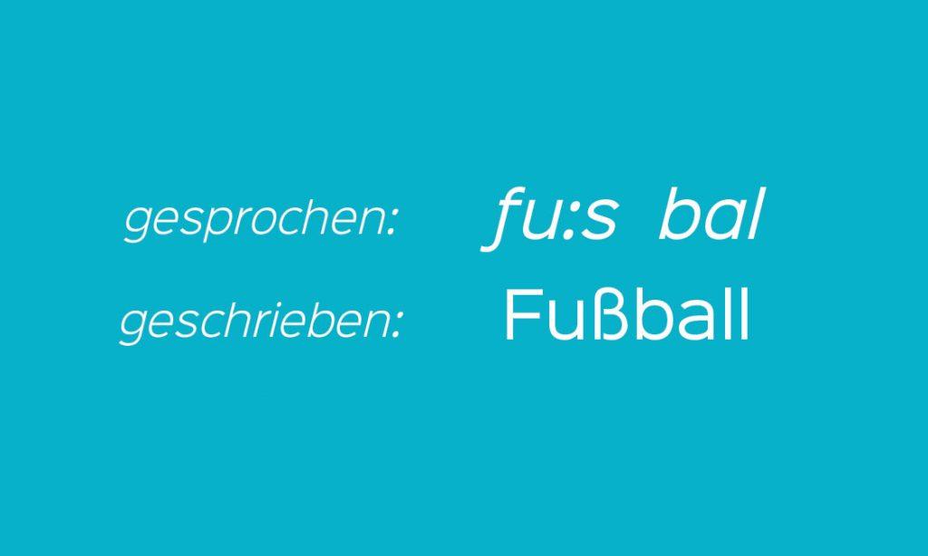 Fußball in Deutsch